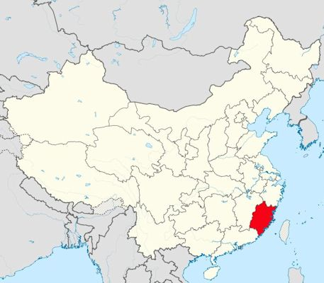 Chinese Cities with Over a Million Population - Quanzhou