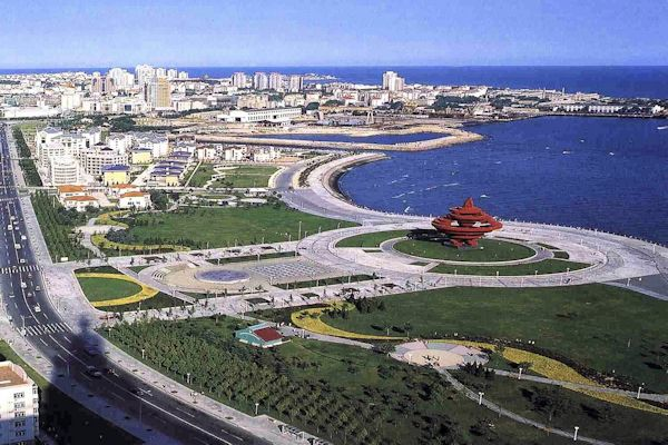 Rizhao China  City new picture : Chinese Cities with Over a Million Population Rizhao
