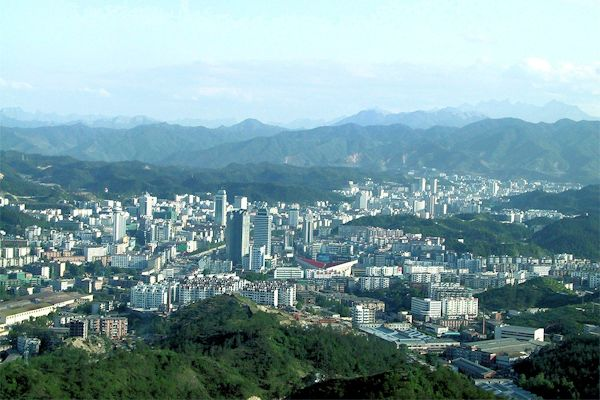 Shiyan China  City pictures : Chinese Cities with Over a Million Population Shiyan