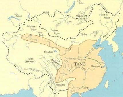 Tang dynasty map sciox Choice Image