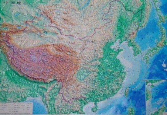 Elevation Map Of China