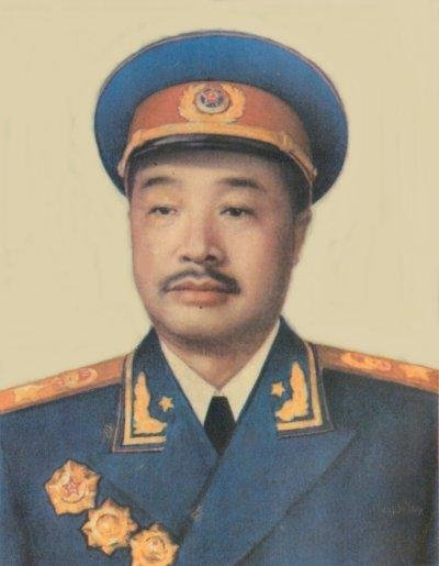 Long March Leaders - Marshal He Long
