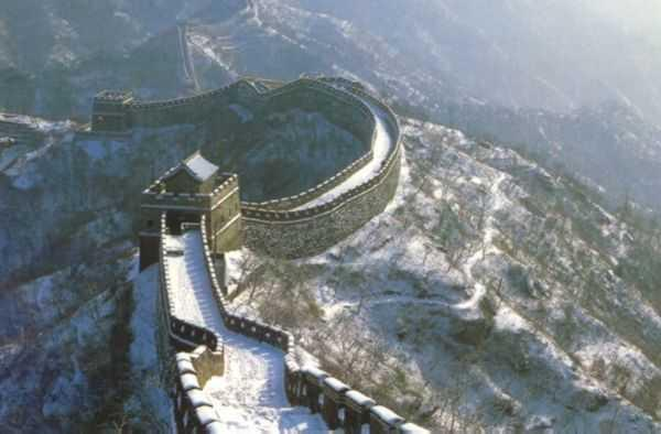 Great wall in snow celebrity hot