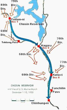 Korean War Maps Detail Marines And Chinese Forces In Chosin