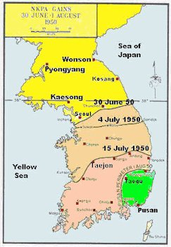 the north korean army. by the North Korean Army