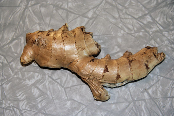 how to cut ginger root for cooking