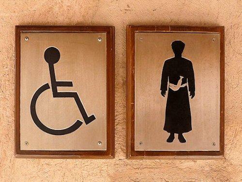 International Restroom Signs Scene 6