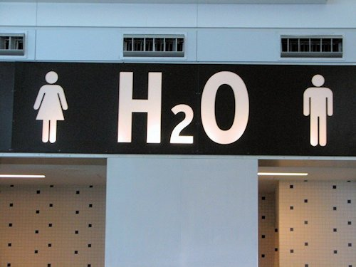 International Restroom Signs Scene 33