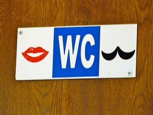 International Restroom Signs Scene 63