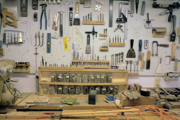 Woodworking tools store Details ~ Backyard arbor