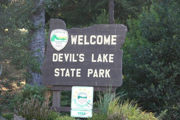 Devil S Lake State Park Campground Lincoln City Oregon Coast