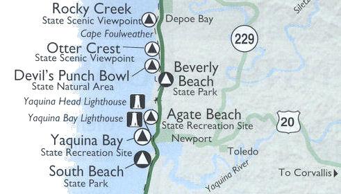 Agate Beach Wayside Oregon Coast