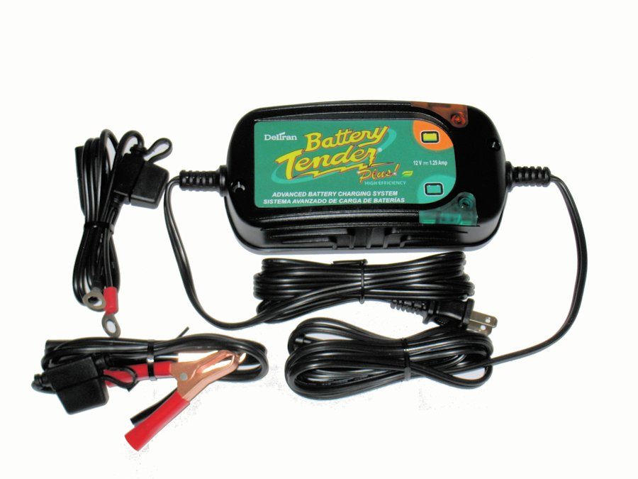 Deltran Battery Tender Plus High Efficiency Charger